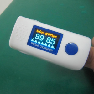 Finger-Pulsoxymeter, Symbolbild