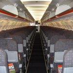 Easyjet A319 Kabine