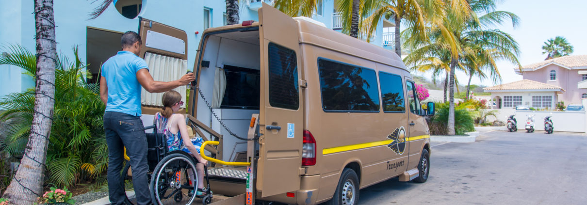 Rollstuhlgerechter Sprinter von El Roi Transport
